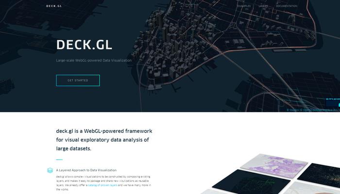 配車システムでおなじみの UBER が手掛けた WebGL 製のマップ
