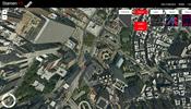 世界の都市を上空から一望できる実験サイト! ワイヤーフレームや高さマップも表示可能