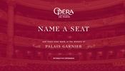 仏・パリにある歌劇場「ガルニエ宮」のシートに名前を付ける!? 一風変わった WebGL コンテンツ