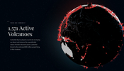 様々なセンサーを利用して活火山を分析・研究するプロジェクト! WebGL を利用したサイトも面白い