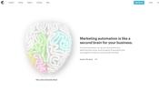 ビジネスシーンを脳の部位に例えてビジュアライズした面白い WebGL 疑似ディスプレースメントデモ!