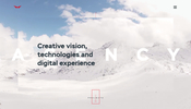 デジタルエージェンシー Red Collar のウェブサイトに見る印象的な WebGL の演出効果
