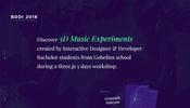 未来のスターが見つかるかも? Gobelins で行われた 3D Music Experiments の作品群
