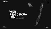 Pixi.js を使った多彩なビジュアル表現が見事! ロシアのウェブエージェンシー Vintage のウェブサイト