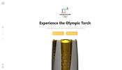 オリンピック委員会関連組織による公式のオリンピックチャンネルに聖火の 3D ビューアが掲載中