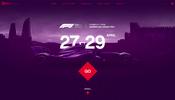 地図表現やイントロデモが秀逸! アゼルバイジャンで行われる F1 グランプリの特設サイト