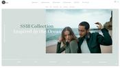 波打つ動きが面白いオーディオ機器などを販売する Bang & Olufsen の 2018 年春夏コレクション特設ページ
