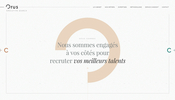 文字の変形演出に Pixi.js を利用! 多彩な技術を駆使した Orus Executive Search のウェブサイト