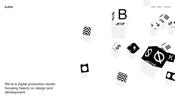 ハッキリとした個性が光る! スウェーデンにあるデジタルプロダクションスタジオ Studio Björk のウェブサイト