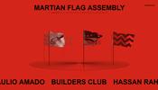 火星への有人探査が成功した暁には…… 火星に立てる旗をテーマにしたイベントのウェブサイト
