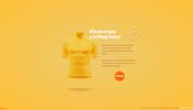 世界最大規模のロードレース、ツール・ド・フランスの栄光の黄色いジャージをテーマにしたウェブサイト