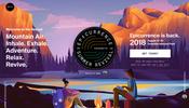 WebGL を利用した画像の疑似立体表現が面白い! ヨセミテ国立公園で行われるイベント Epicurrence のウェブサイト