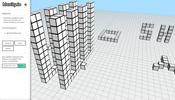ボクセルを使ってオンライン共有空間にキューブを配置できる実験的プロジェクト bloxity が面白い