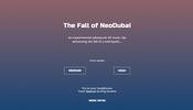 小説と楽曲にインスパイアされて制作されたストーリー性のあるミュージッククリップ The Fall of NeoDubai