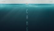 水面から差し込む光の表現も見事な Pixi.js 製の演出が面白い! 映画 CARGO のウェブサイト