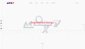 スクロールと共に次々と現れる 3D シーン遷移が面白いデザインスタジオ MOXY のウェブサイト