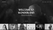 様々なインタラクティブ性のある演出が楽しさ満点! WebGL 実装の実績も多い Wonderland. のウェブサイト