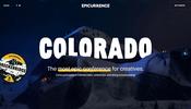 コロラドの雪山で過ごす二日間のディスカッション! WebGL を効果的に利用したエフェクトが面白いウェブサイト