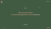 大胆なエフェクトが面白い 2018 のソーシャルネットワークにおけるトレンドを振り返る UnProductive Social Year がすごい!