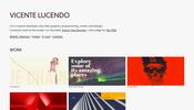 確かな技術力と個性が見事に融合! 面白い WebGL 作品も多数掲載された Vicente Lucendo さんのポートフォリオ