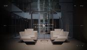 まるで透き通ったクリスタルのような美しさ……アーキサイトメビウス株式会社のコーポレートサイトがステキ!