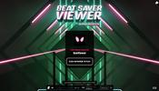 VR ゲームとして人気を博した BeatSaver の譜面データをプレビューできる A-Frame 製の BeatSaver Viewer
