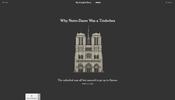 これこそ次世代の報道の形! ノートルダム大聖堂の火災からわずか1日あまりで公開された New York Times の記事