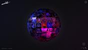その社名のとおりの直球勝負な WebGL 実装! アメリカ・NY にある Mirrorball 社のウェブサイト