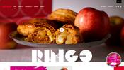 洋菓子店のサイトでシューティングゲーム!? 楽しい仕掛けが満載の RINGO のウェブサイト