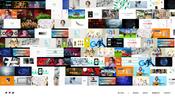 直線的なデザインと流れるようなアニメーションの心地よさがお見事! 株式会社ナナメのコーポレートサイト