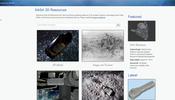 NASA 公式の様々な宇宙に関するデータがダウンロード可能! 3D モデルデータや画像が多数!