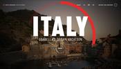 イタリアを旅するバケーションの様子を疑似体験できるウェブサイト Isabellas Dream Vacation