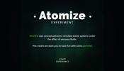 パーティクルを利用して粘性流体をシミュレートすることができる Atomize が面白い!