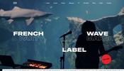 スペクトルの可視化に WebGL を活用! フランスのミュージックレーベル Roche Musique のウェブサイト