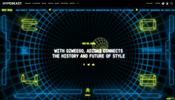 アディダスとファッション系メディア HYPEBEAST がコラボ! 2048 年の未来をイメージしたウェブサイトがすごい!