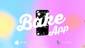 シェーダが生み出す美しいグラデーション! 製菓メーカー BAKE のモバイル App 特設サイト
