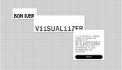 グラフィックスのすべてを i の文字が形作る不思議な世界! Bon Iver さんのニューアルバム「i, i」のウェブサイト