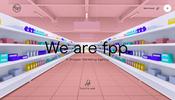 スーパーマーケットのような 3D シーンなど一風変わったおもしろ演出が多数登場! FPP のウェブサイト