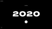 スクロールに連動したインタラクションが楽しいアーティスティックな Rezo Zero のデジタル・グリーティングカード