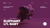 glTF と WebGL でキャラクターをレンダリング! 3D アーティスト Bruno Ortolland さんのポートフォリオサイト