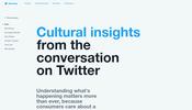 Twitter の呟きデータを解析した結果を様々な角度から検証できる Twitter shaping culture