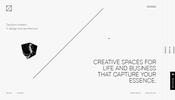 ほんの一瞬のインタラクションに注目! 建築やインテリアのデザインを手掛けるスタジオ leqb architects のウェブサイト