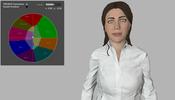 WebGL を利用して人物モデルの表情変化をデモンストレーションした WebGLStudio Emotions Demo が面白い