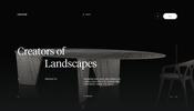 ノイズを利用した印象的なトランジションが美しいイタリアのインテリアメーカー Henge のウェブサイト