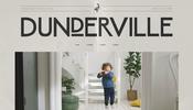 控えめな演出だからこそ目を引く一風変わったグリッチ! クリエイティブ・スタジオ Dunderville のウェブサイト