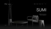 熊本・阿蘇の風物詩「野焼き」をイメージして作られた美しい黒いインテリア SUMI LIMITED のウェブサイト