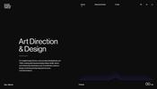ラインを利用した表現が面白い! デジタル・デザイン・ディレクター Max Niblock さんのポートフォリオサイト