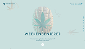 薬物に対する正しい知識を身につけるよう注意を促すノルウェーのウェブサイト Weedensenteret