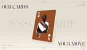 美しく個性的なカードデッキで神経衰弱のようなミニゲームもプレイできる SSSolitaire のウェブサイト