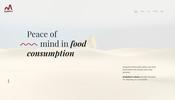 ダイナミックなスクロールエフェクトで自分たちのビジョンを力強く示した Analytica Alimentaria のウェブサイト